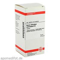 AURUM CHLORATUM NATRON D 6, 200 ST, Dhu-Arzneimittel GmbH & Co. KG