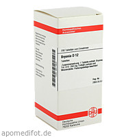 BRYONIA D12, 200 ST, Dhu-Arzneimittel GmbH & Co. KG