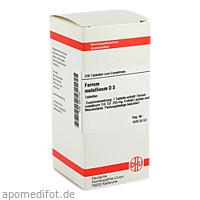 FERRUM MET D 3, 200 ST, Dhu-Arzneimittel GmbH & Co. KG