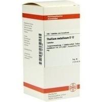 THALLIUM MET D12, 200 ST, Dhu-Arzneimittel GmbH & Co. KG