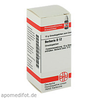 BERBERIS D12, 10 G, Dhu-Arzneimittel GmbH & Co. KG