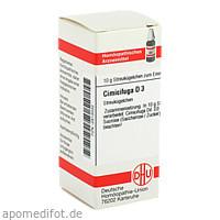 CIMICIFUGA D 3, 10 G, Dhu-Arzneimittel GmbH & Co. KG