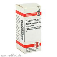 SECALE CORNUT D 4, 10 G, Dhu-Arzneimittel GmbH & Co. KG