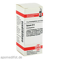 OPIUM D 6, 10 G, Dhu-Arzneimittel GmbH & Co. KG