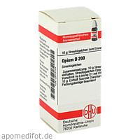 OPIUM D200, 10 G, Dhu-Arzneimittel GmbH & Co. KG