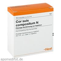 Cor suis compositum N, 10 ST, Biologische Heilmittel Heel GmbH