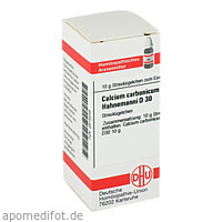 CALCIUM CARB HAHNEM D30, 10 G, Dhu-Arzneimittel GmbH & Co. KG