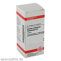 CALCIUM CARB HAHNEM D 6, 80 ST, Dhu-Arzneimittel GmbH & Co. KG