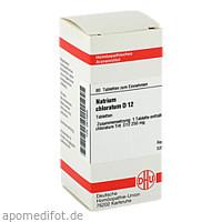NATRIUM CHLORAT D12, 80 ST, Dhu-Arzneimittel GmbH & Co. KG