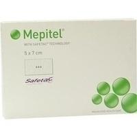 MEPITEL 5X7cm STERIL NETZ, 5 ST, Mölnlycke Health Care GmbH