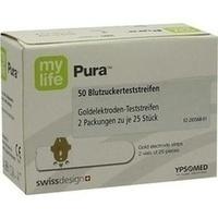 mylife Pura Blutzucker-Teststreifen, 50 ST, Eurimpharm Arzneimittel GmbH