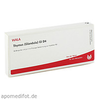 THYMUS (GLANDULA) GL D 4, 10X1 ML, Wala Heilmittel GmbH