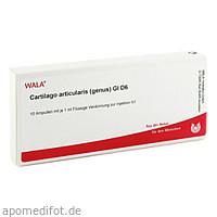 CARTILAGO ART (GEN) GL D 6, 10X1 ML, Wala Heilmittel GmbH