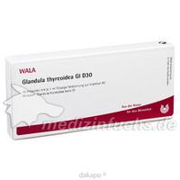 GLANDULA THYREOIDEA GL D30, 10X1 ML, Wala Heilmittel GmbH