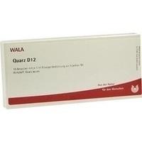 QUARZ D12, 10X1 ML, Wala Heilmittel GmbH