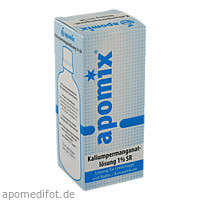 Kaliumpermanganatlösung 1% SR, 100 ML, Apomix Amh Niemann GmbH & Co. KG