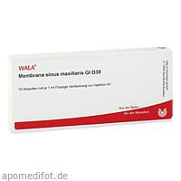 MEMBRANA SINUS MAXI GL D30, 10X1 ML, Wala Heilmittel GmbH