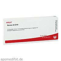 RENES GL D10, 10X1 ML, Wala Heilmittel GmbH