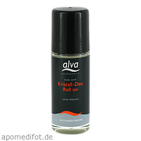 FOR HIM Roll-On-Deo Kristall Alva, 50 ML, alva naturkosmetik GmbH & Co. KG