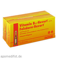 Vitamin B12 + Folsäure Hevert, 2X20 ST, Hevert Arzneimittel GmbH & Co. KG