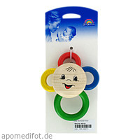 Baby-Rassel Blümchen Flora, 1 ST, Büttner-Frank GmbH