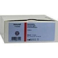Assura Basispl. konvex light aussch.15-33mm RR50mm, 4 ST, Coloplast GmbH