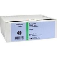 Assura Basispl. konvex light aussch.15-23mm RR40mm, 4 ST, Coloplast GmbH