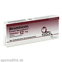 BROMHEXIN K.Meuselb.Tabl.12mg, 50 ST, Hermes Arzneimittel GmbH