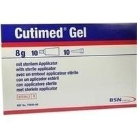 Cutimed Hydrogel 8g amorph, 10X8 G, Bsn Medical GmbH