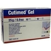 Cutimed Hydrogel 25g amorph, 10X25 G, Bsn Medical GmbH