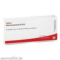 MAMMA (DEXTRA) GL D15, 10X1 ML, Wala Heilmittel GmbH