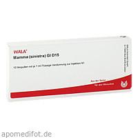 MAMMA (SINISTRA) GL D15, 10X1 ML, Wala Heilmittel GmbH