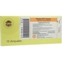 Vitamin B12 Sanum 1000 ug/ml Injektionslösung Amp, 10X1 ML, Sanum-Kehlbeck GmbH & Co. KG