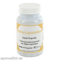 Alpha - Liponsäure Junek Kapseln, 60 ST, Bios Medical Services