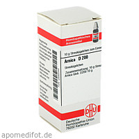 ARNICA D200, 10 G, Dhu-Arzneimittel GmbH & Co. KG