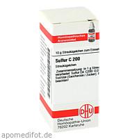 SULFUR C200, 10 G, Dhu-Arzneimittel GmbH & Co. KG