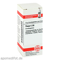 THUJA C30, 10 G, Dhu-Arzneimittel GmbH & Co. KG