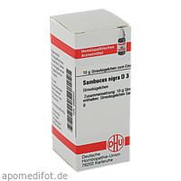 SAMBUCUS NIGRA D 3, 10 G, Dhu-Arzneimittel GmbH & Co. KG