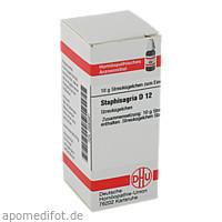 STAPHISAGRIA D12, 10 G, Dhu-Arzneimittel GmbH & Co. KG
