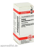 ACIDUM HYDROFLUOR D12, 10 G, Dhu-Arzneimittel GmbH & Co. KG