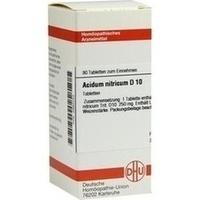 ACIDUM NITR D10, 80 ST, Dhu-Arzneimittel GmbH & Co. KG
