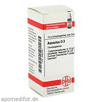 AESCULUS D 3, 10 G, Dhu-Arzneimittel GmbH & Co. KG