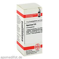 AGARICUS D 6, 10 G, Dhu-Arzneimittel GmbH & Co. KG