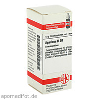 AGARICUS D30, 10 G, Dhu-Arzneimittel GmbH & Co. KG