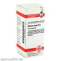 ALLIUM CEPA D 2, 10 G, Dhu-Arzneimittel GmbH & Co. KG