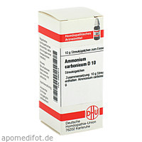 AMMONIUM CARB D10, 10 G, Dhu-Arzneimittel GmbH & Co. KG