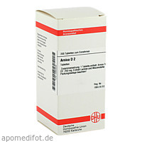 ARNICA D 2, 200 ST, Dhu-Arzneimittel GmbH & Co. KG