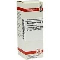 AURUM SULFURAT D 6, 20 ML, Dhu-Arzneimittel GmbH & Co. KG