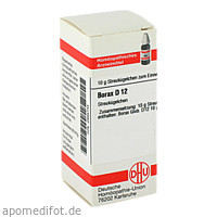 BORAX D12, 10 G, Dhu-Arzneimittel GmbH & Co. KG