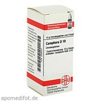 CAMPHORA D10, 10 G, Dhu-Arzneimittel GmbH & Co. KG